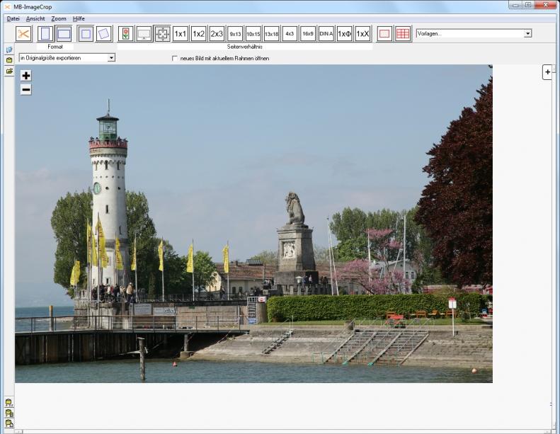 MB-ImageCrop - schräge Aufnahme - optimierte Aufnahme